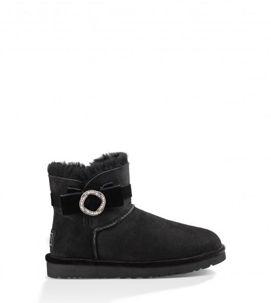 Ugg Karlie Brooch Damen Stiefel Stiefel Boots