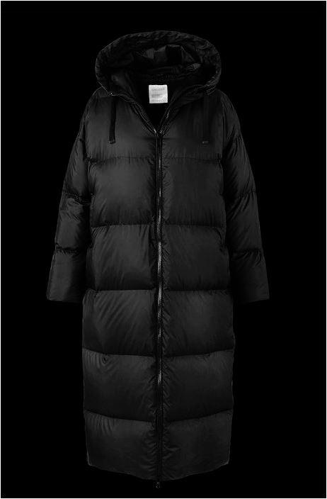 Bomboogie Extralong CW5233 Damen Daunen Steppmantel schwarz