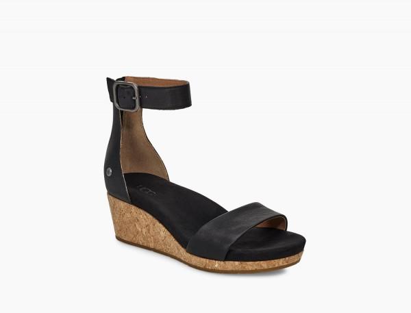 UGG Zoe II Damen Sandale - schwarz