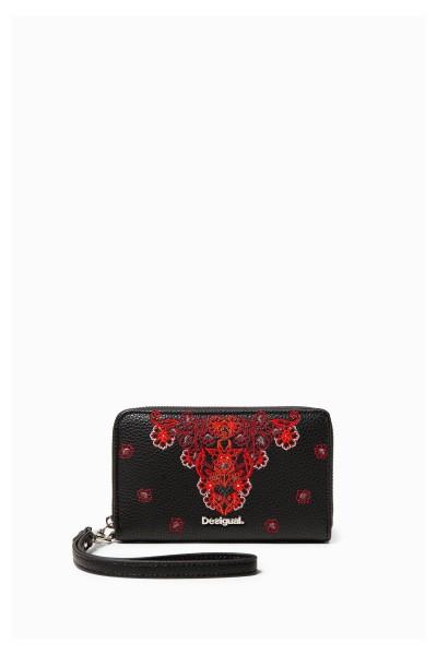 Desigual Manuela Mini Zip Damen Portemonnaie