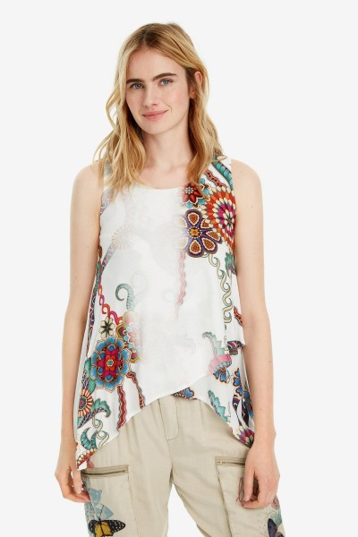 Desigual Arkansas Damen Wickel Top