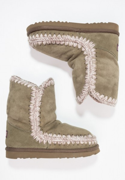 MOU Eskimo 24 Damen Stiefel Boots - oliv