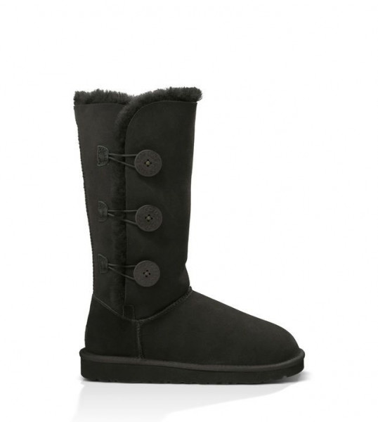 UGG Bailey Button Triplet Damen Stiefel - schwarz