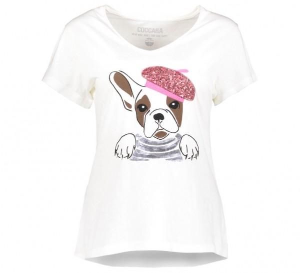 Coccara Frenchie T124 Damen T-Shirt