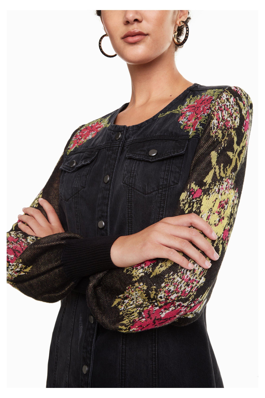 Desigual Roxanne Damen Jeans Kleid - schwarz | Kleider ...