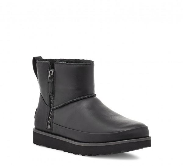 UGG Classic Zip Mini Leather Damen Stiefel