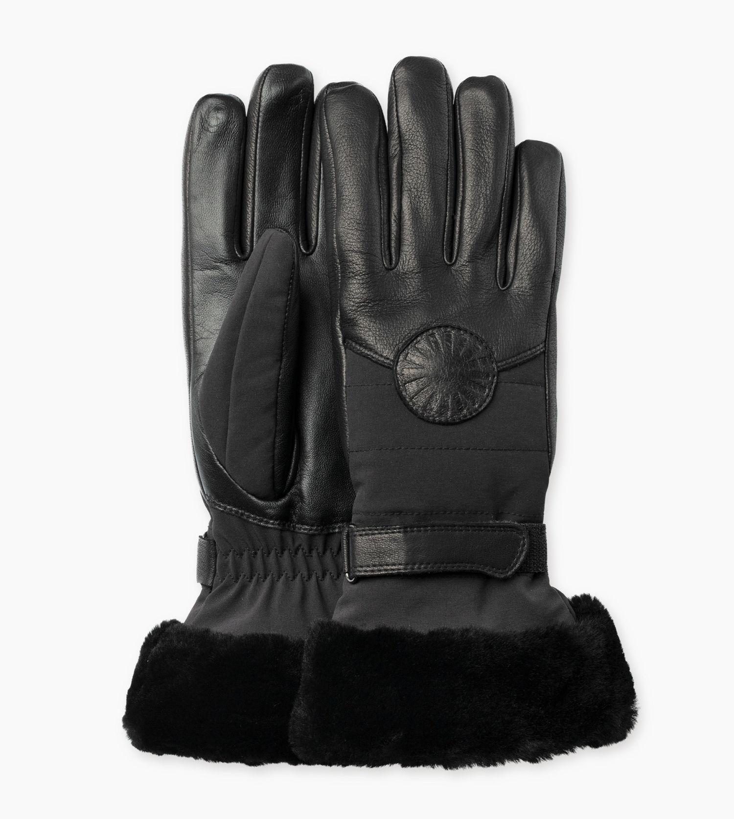 ugg performance smart glove damen leder handschuhe handschuhe accessoires damen bootbay. Black Bedroom Furniture Sets. Home Design Ideas