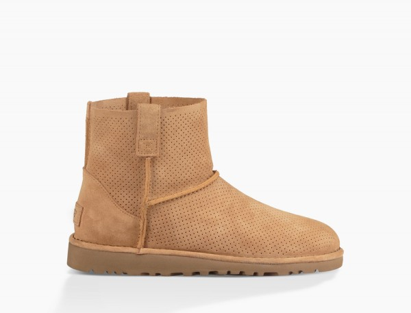 UGG Classic Mini Unlined Perf Sommer Boot -taupe