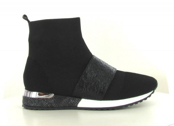 La Strada 1800858-4501 High Damen Sneaker schwarz