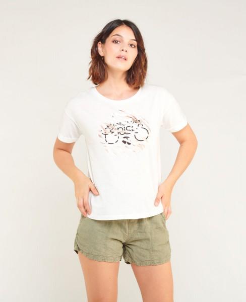 Le Temps des Cerises Junglogo Damen T-Shirt