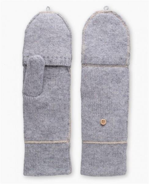 UGG Two Color Mitten Handschuhe mit abnehmbaren Finger Teil