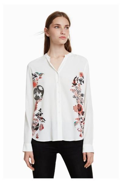 Desigual Randers Damen Bluse – weiß