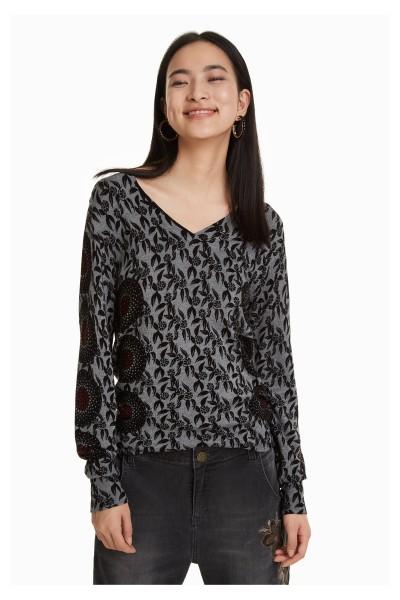 Desigual Jakinde Damen Feinstrick Pullover