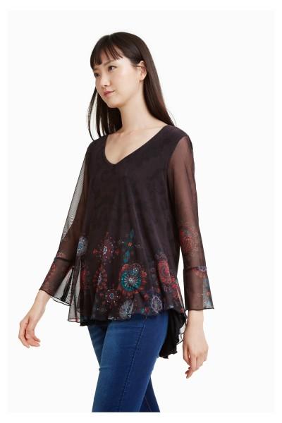 Desigual Brule´ Damen Tunika Shirt