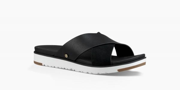 UGG Kari Damen Slipper Sandale - schwarz
