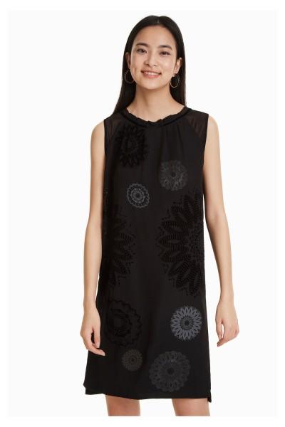 Desigual Zagreb Damen Abendkleid - schwarz