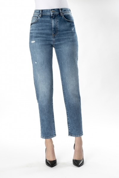 C.O.J. Denim Lynn Damen Boyfriend - Mom Jeans