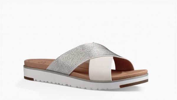 UGG Kari Damen Sandale mit Stoß absorbierendem Fußbett