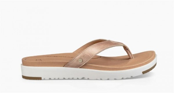 UGG Lorrie Damen Zehentrenner mit Stoß absorbierendem Fußbett