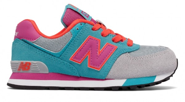 New Balance KL574WTP Mädchen Sneaker