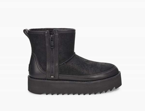 UGG Classic Rebel Biker Mini Damen Boots