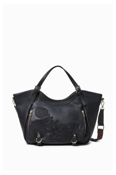 Desigual Dark Amber Rotterdam Damen Handtasche