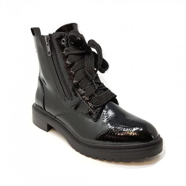 La Strada Black Patent Damen Stiefelette 968013-1301-A - schwarz