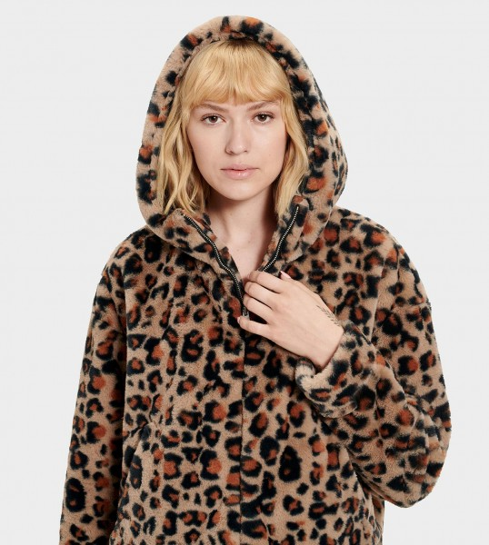 Ugg Mandy Faux Fur Hoodie Damen Jacke