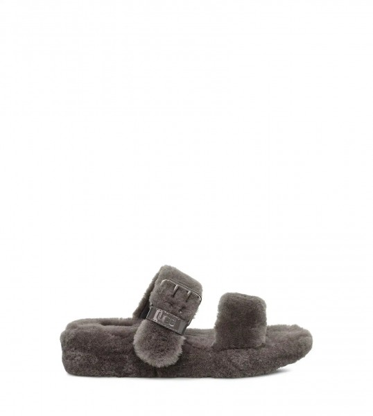 UGG Fuzz Yeah Damen Slipper Sandale