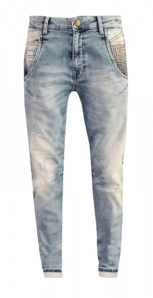 Zhrill Selena W7058 Damen Boyfriend Jeans