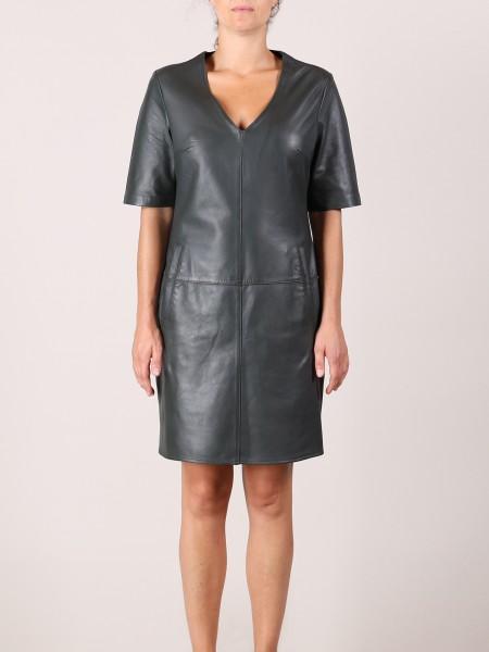 Rino & Pelle Idar Damen Leder Kleid