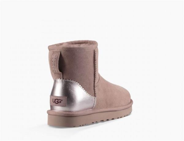 44b22fd04f13dd UGG Classic Mini II Metallic Damen Stiefel