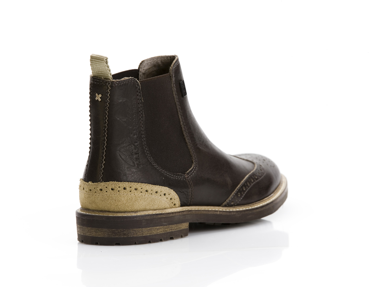 save off 16cd6 3c492 Camp David Chelsea Boot im Budapester Look
