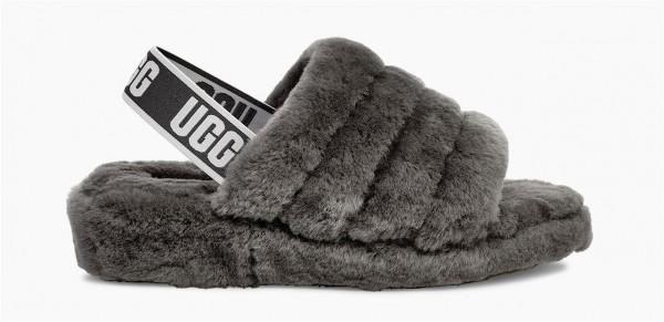 UGG Fluff Yeah Slide Damen Hausschuh Sandale