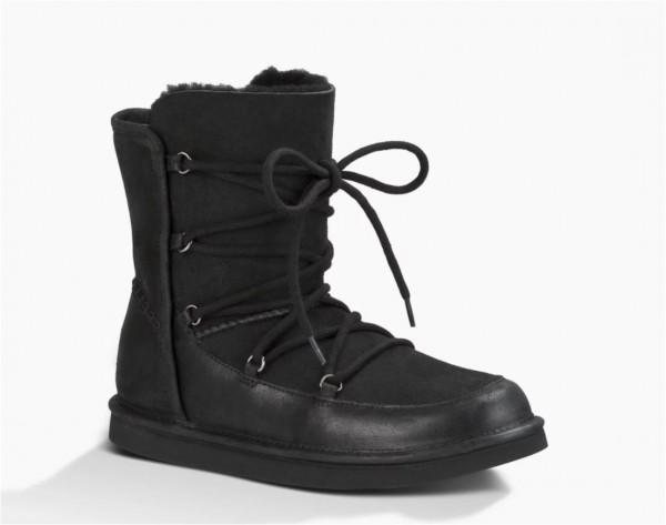 UGG Lodge Damen Stiefel - schwarz