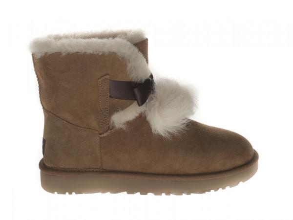 UGG Gita Damen Boots mit Fellbommel