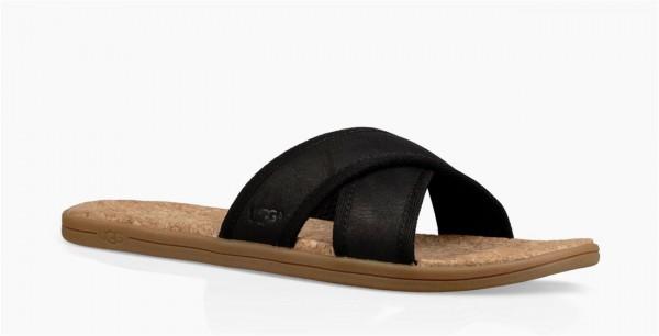UGG Seaside Slide Herren Slipper Sandale schwarz