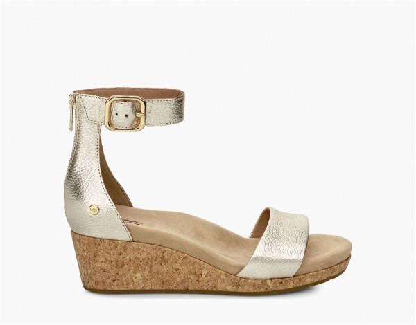 UGG Zoe II Metallic Damen Sandale