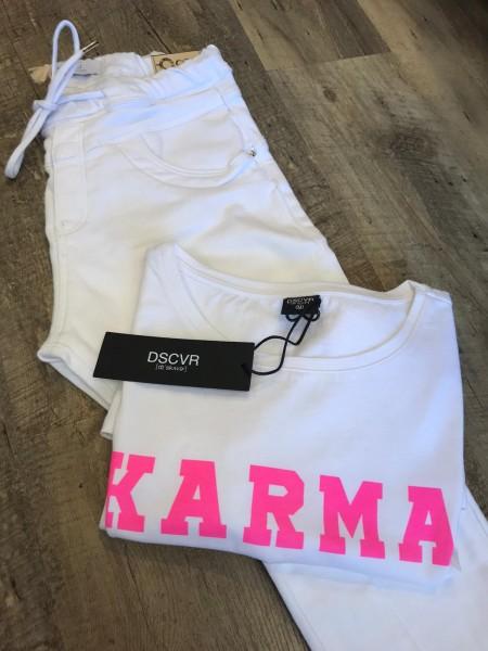 DSCVR Damen T-Shirt Karma