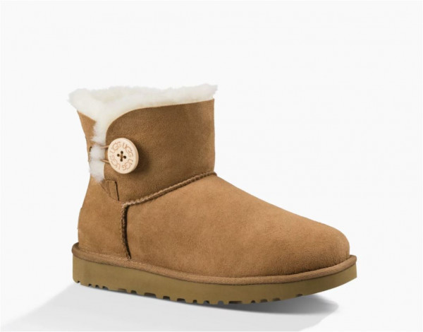 6680413c4a UGG Mini Bailey Button II Damen Stiefelette mit Knopf | Boots ...