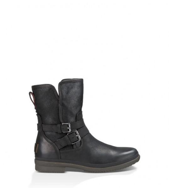 UGG Simmens Damen Stiefel wasserabweisend - schwarz