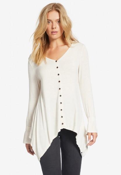 Khujo Bulma Damen Shirt - beige