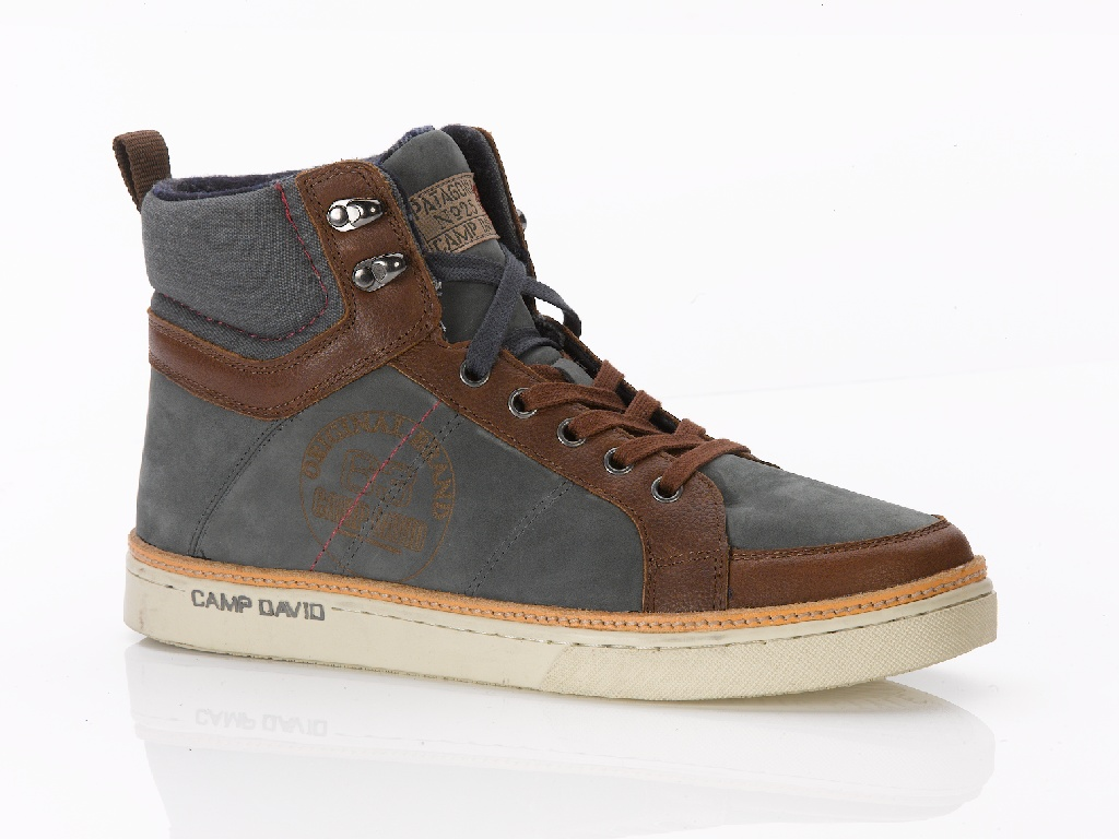 Herren Camp David Jump Sneaker High N0Ovm8nw