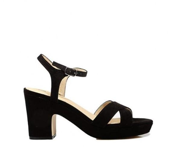 La Strada Damen Sandale mit Blockabsatz 963373-2201-A - schwarz