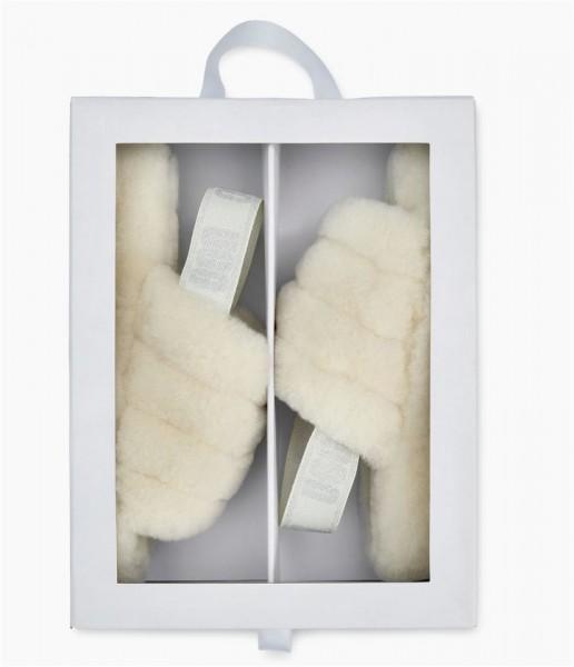 UGG Fluff Yeah Slide Damen Hausschuh Sandale in einer Geschenkbox