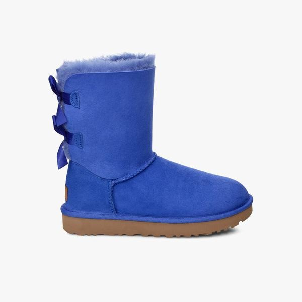 UGG Bailey Bow II Fahion Colours Damen Stiefel mit Schleifen -blau
