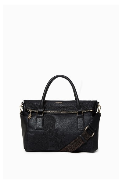 Desigual Dark Amber Loverty Damen Handtasche