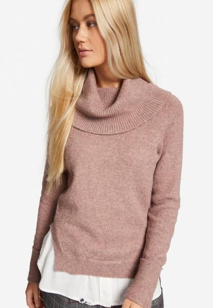 Khujo Sohei Damen Pullover - rosa