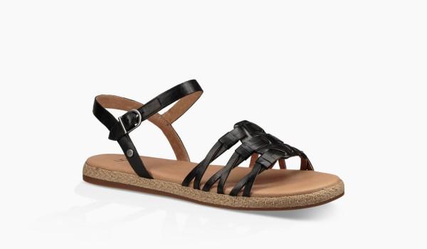 UGG Larissa Damen Sandale schwarz