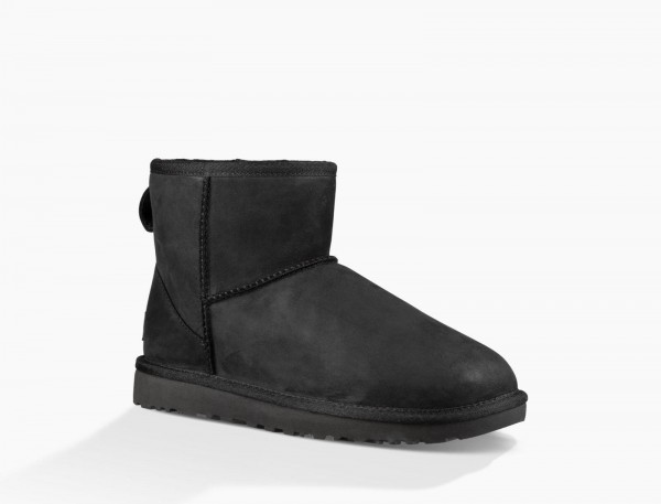 UGG Classic Mini Leather Damen Boots